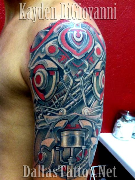 biomechanical tattoo artist in texas dallas tattoo addison tx tattoo kayden digiovanni