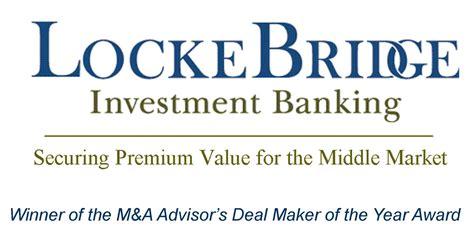 korber bank lockebridge investment bank advises on sale of virginia