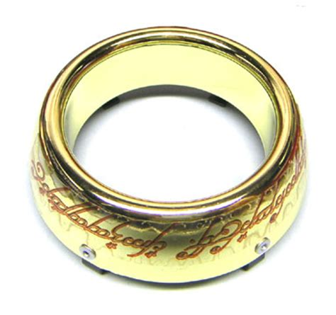 pinballlife lord of the rings magnetic gold ring plastic