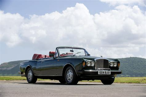 classic bentley convertible bentley continental convertible uk spec cars classic 1990