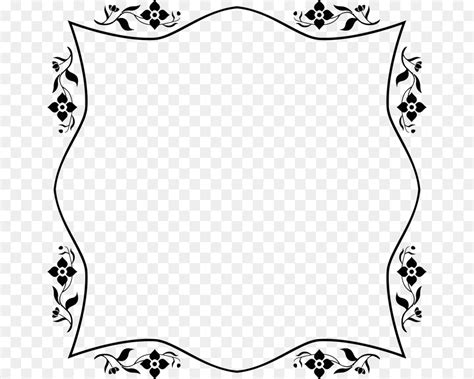 clipart bordi bordi decorativi floreali confini calligrafico cornici e
