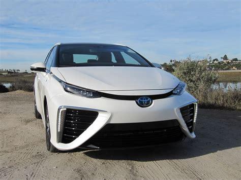 cars toyota 2016 2016 toyota mirai hydrogen fuel cell car first photos