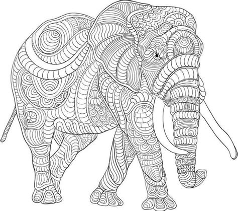 the coloring book for cool who animals books colouring elephants zentangles a collection of