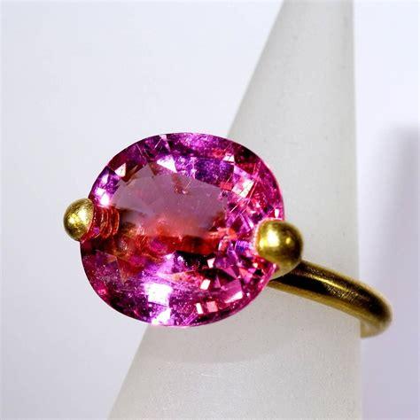 bright pink tourmaline ring at 1stdibs