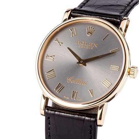 rolex cellini s 18k yellow gold 5115 save at
