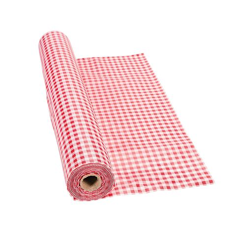 in 3 7310 gingham tablecloth roll 100 ft ebay