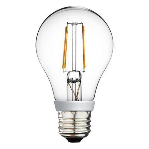 Dimmer For Led Light Bulbs A19 Led Filament Bulb 4 Watt Dimmable 40w Equiv 470 Lumens By Euri