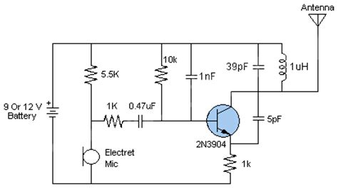 how to make inductor for fm transmitter circuit zone electronic projects electronic schematics diy electronics