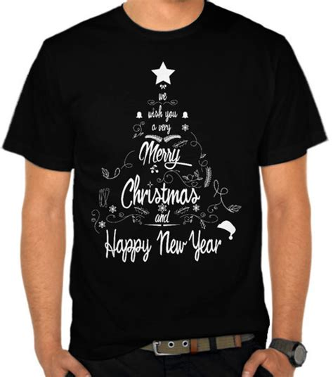 Kaos Merry Natal by Jual Kaos Merry And Happy New Year