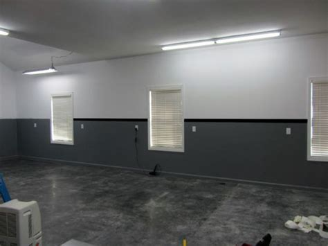 garage walls wall paint colors and garage on