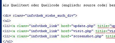 html quellcode layout quelltext auch quellcode programmierung von