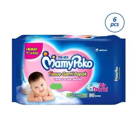 Sweety Baby Wipes Non Perfumed 80 4 Sheet Jual Mamypoko Baby Wipes Reguler Non Perfumed Tissue Basah