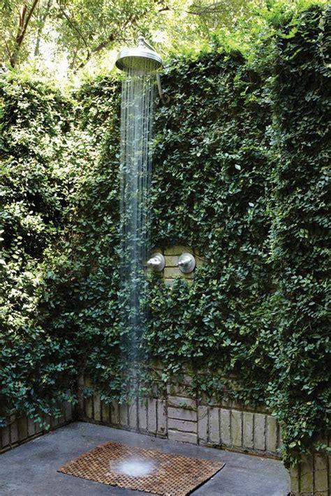 garden shower ideas 18 tropical and outdoor shower ideas small house