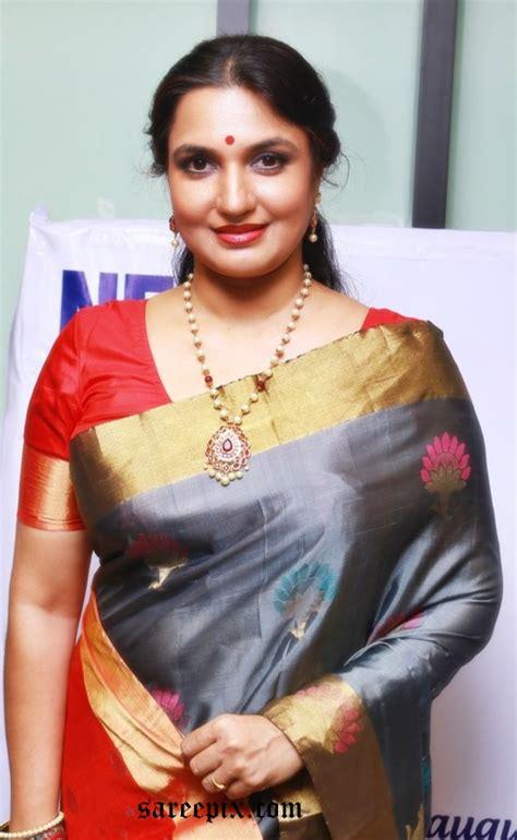 aunties hd images cinema sukanya aunty in silk saree photos