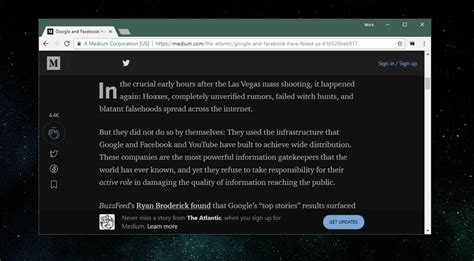 themes in reading in the dark get a dark theme for medium in your browser