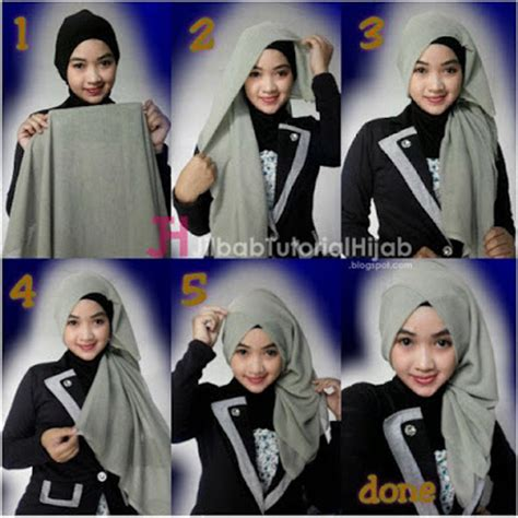 tutorial hijab wisuda paris tutorial hijab turban segi empat simple jilbab tutorial
