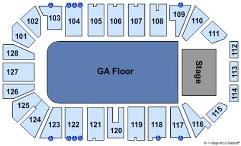 dr pepper arena   dr pepper arena seating chart