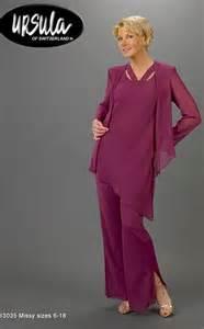 mother of the bride pant suit ursula 3pc tunic pant set