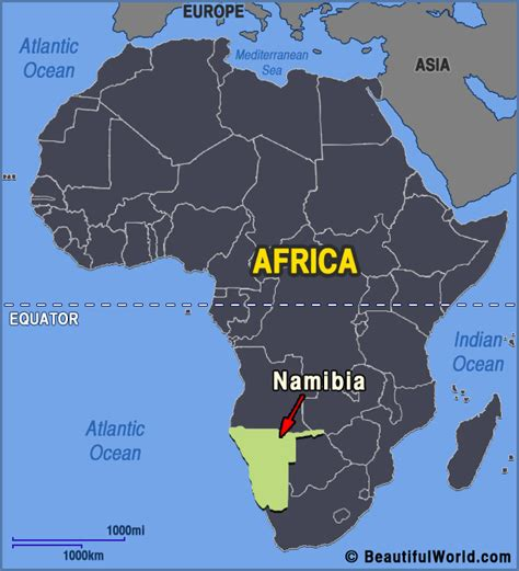 africa map namibia map of namibia facts information beautiful world