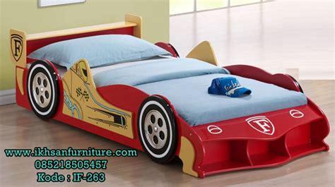tempat tidur anak mobil balap model tempat tidur anak