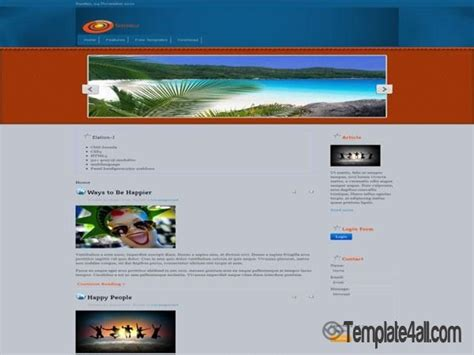 joomla 3 free templates free center purple joomla template