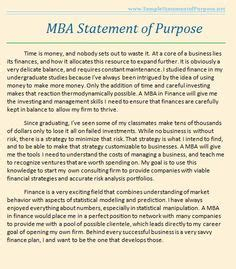 Statement Of Purpose For Mba In Business Management by Sociology Personal Statement Exles Studential