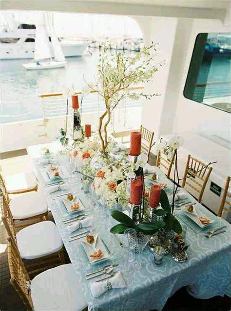 on a boat theme yacht and boat wedding decorating ideas design indulgences