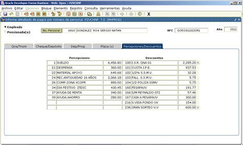 nomina ejemplo de contabilidad fortalecimiento y proceso de mejora 2011 2013