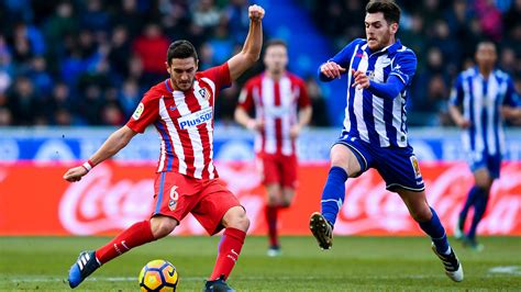 la liga deportivo alaves vs atletico madrid highlights and goals