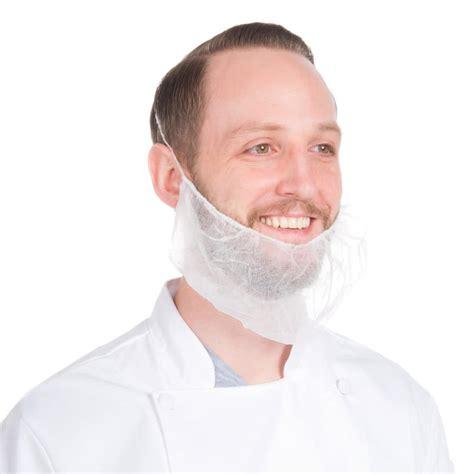 beard length fod safety royal paper rbp1m disposable polypropylene beard cover