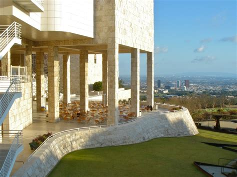 Home Office Library by Getty Center Richard Meier Los Angeles United States