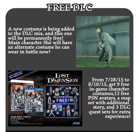 Sony Ps Vita Lost Dimension the playstation 3 and playstation vita from