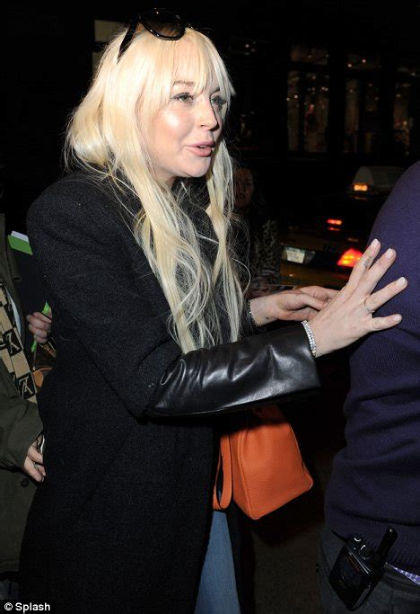 Lindsay Lohans Of Excitement by Lindsay Lohan Shows Unruly And Unflattering Mane In