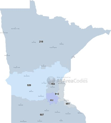 Area Code Lookup Canada Minnesota Area Codes Map List And Phone Lookup