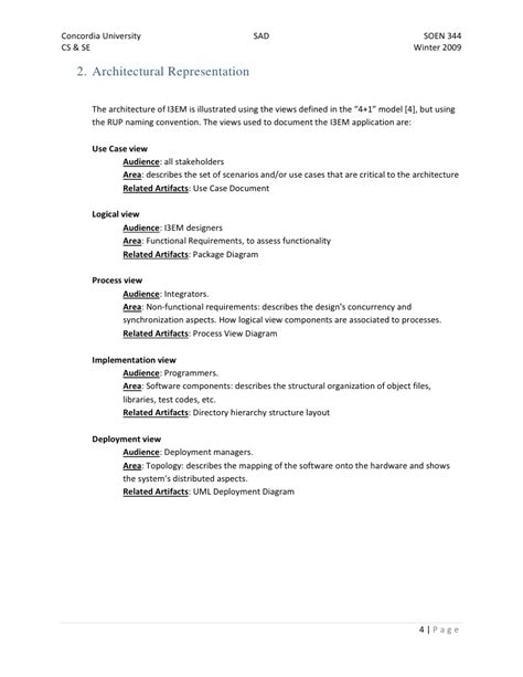 Software Architecture Document Final