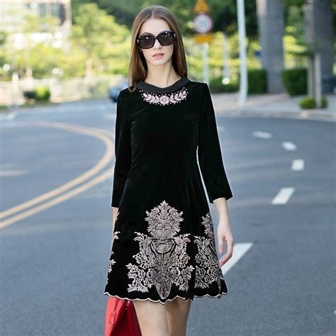 lowongan kerja fashion design 2015 2015 women autumn runway fashion dress elegant beading