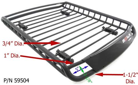 Roof Basket With Lights by Etrailer
