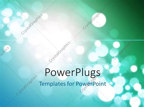 festive powerpoint templates powerpoint template festive background with bokeh