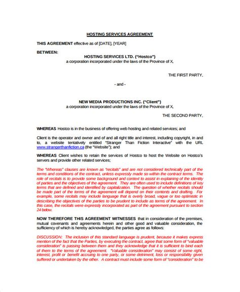 business service agreement 10 business service agreements sle templates