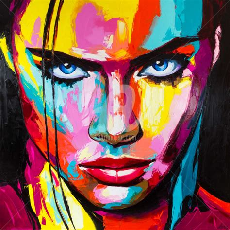 colorful portraits determination svetlana tikhonova