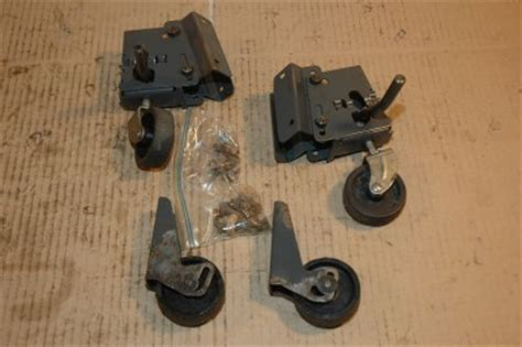 craftsman table saw casters craftsman table saw mobile caster wheels set of 4 casters