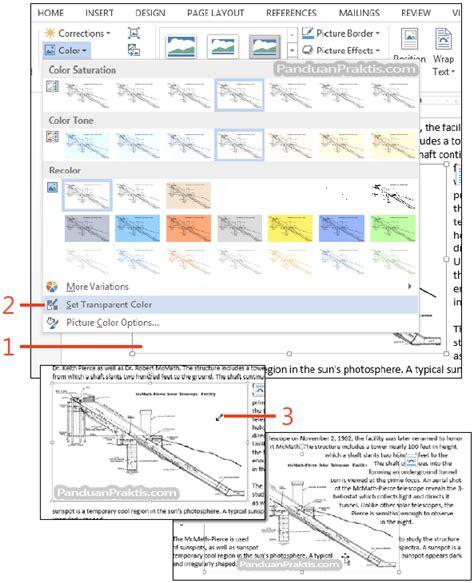 membuat gambar transparan di idesigner cara membuat warna gambar menjadi transparan di word 2013