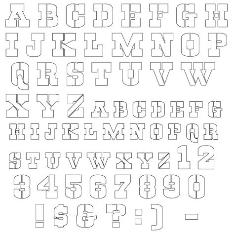 alphabet stencil template dallas cowboys printable stencil letters new calendar
