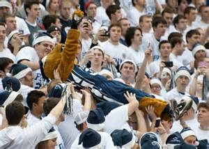 penn state football student section return to rec a penn state throwback we admit penn