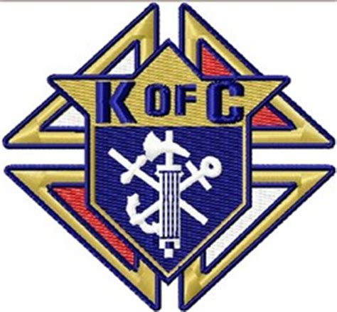 Embroidery Design Knights Of Columbus   digital giggle embroidery design knights of columbus