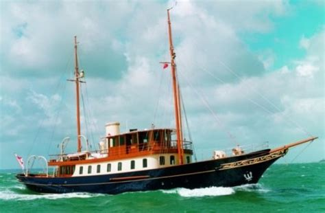 tom perkins boat atlantide one of the little ships of dunkurk now owned by