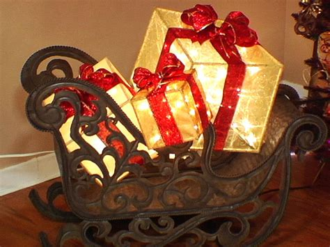 create a lighted holiday gift box hgtv