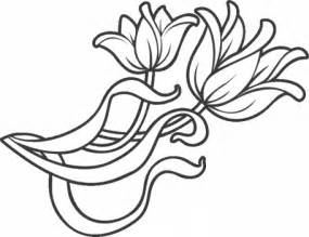 decoration flowers coloring pages preschoolers coloring point