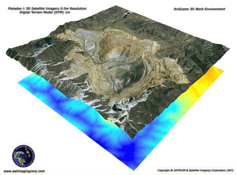 layout view in arcscene pleiades 1a arcscene 3d work environment satellite