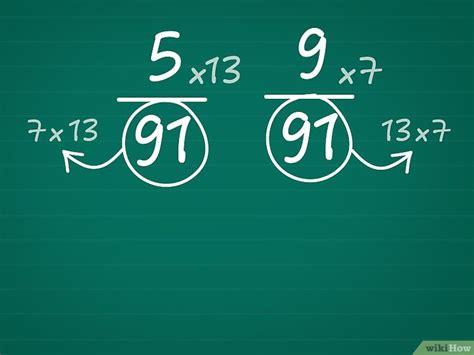 addizionare e sottrarre frazioni con denominatori diversi come confrontare le frazioni 4 passaggi illustrato